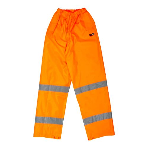 Warrior Orange Hi Vis Seattle Over Trousers